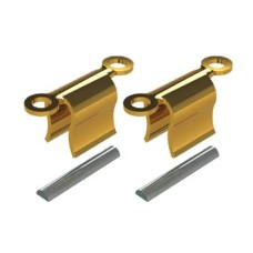Clip van goudlegering met occlusale retentie incl. spacers 3,65 mm (CL-694-3OR)