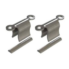 Clip van RVS INOX (LV-IN) met occlusale retentie incl. spacers 3,50 mm (CL-694-3IN)